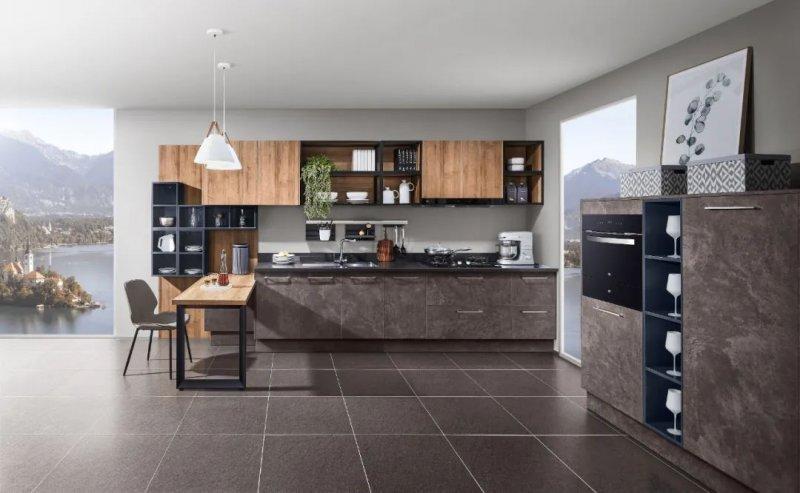 司米橱柜厨房系列图片 地中海风格装修效果图_1