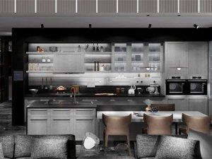 禾田世家素木产品系列图片 厨房装修效果图