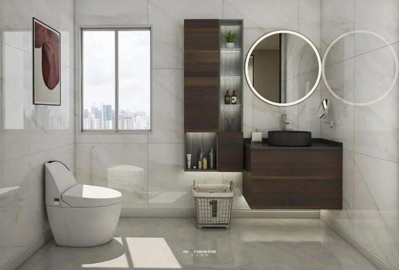 皮阿诺卫浴柜装修设计效果图_3