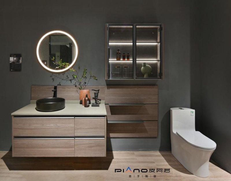 皮阿诺卫浴柜装修设计效果图_2