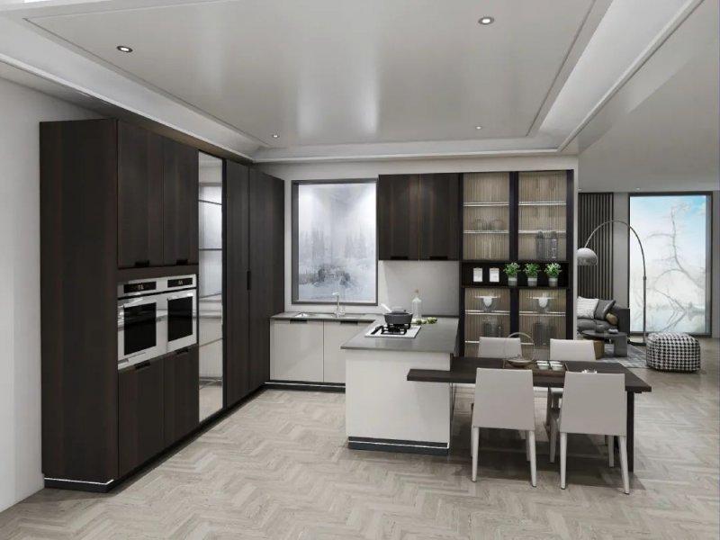 澳都全屋定制北欧风格厨房装修效果图_5