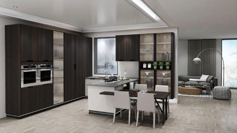 澳都全屋定制北欧风格厨房装修效果图_2
