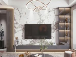 德派克全铝橱柜客厅简约风格装修效果图