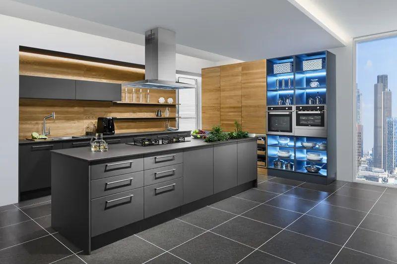 司米櫥柜餐廚一體化系列圖片 現代風裝修效果圖_7