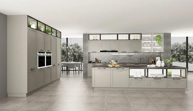 司米橱柜厨房系列图片 现代风装修效果图_17