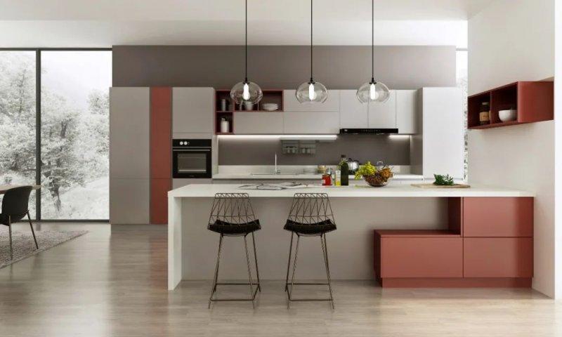 司米橱柜厨房系列图片 现代风装修效果图_12