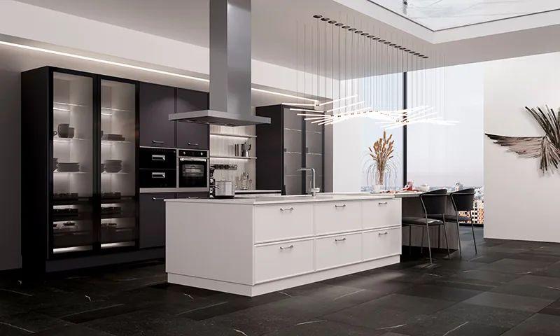 司米橱柜厨房系列图片 现代风装修效果图_15