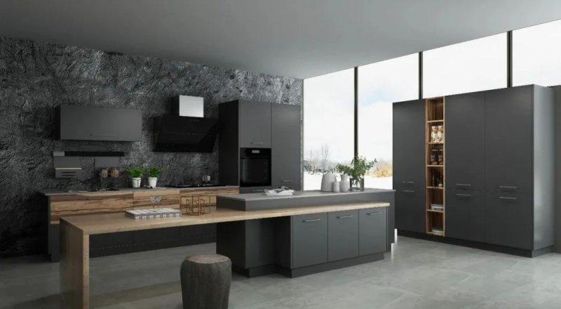 司米橱柜厨房系列图片 现代风装修效果图_1