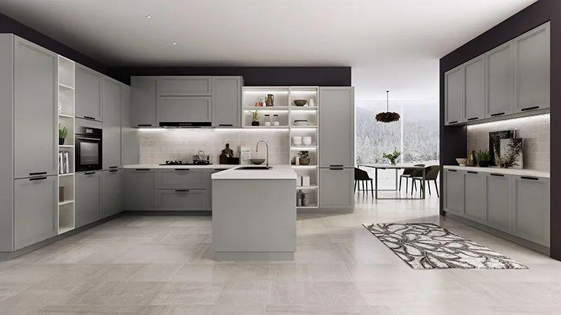 司米橱柜厨房系列图片 现代风装修效果图_16