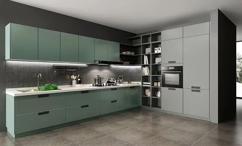 司米橱柜厨房系列图片 现代风装修效果图_10