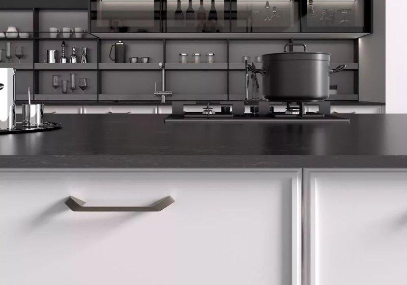 司米橱柜轻奢风格厨房装修效果图_5