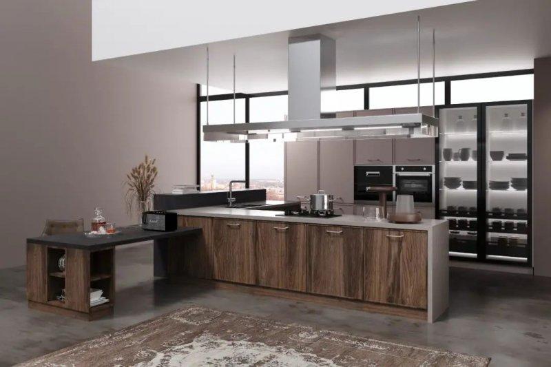 司米橱柜厨房系列图片 轻奢风装修效果图_1