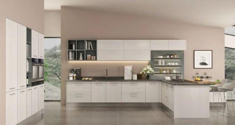 司米橱柜厨房系列图片 轻奢风装修效果图_17