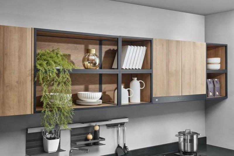 司米橱柜厨房系列图片 轻奢风装修效果图_11