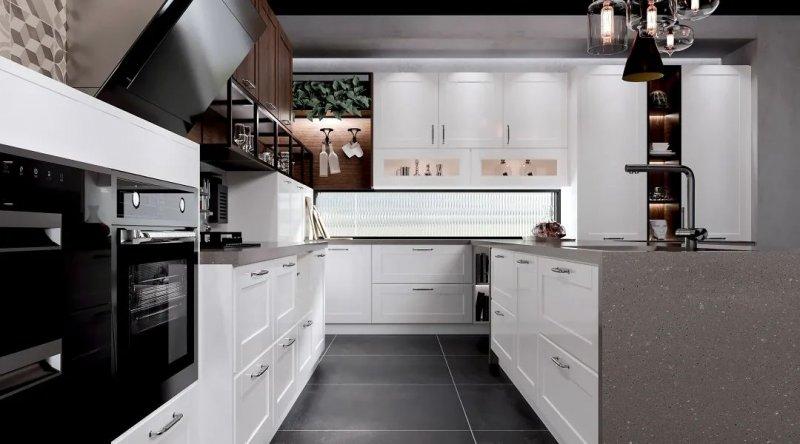 司米橱柜厨房系列图片 轻奢风装修效果图_13