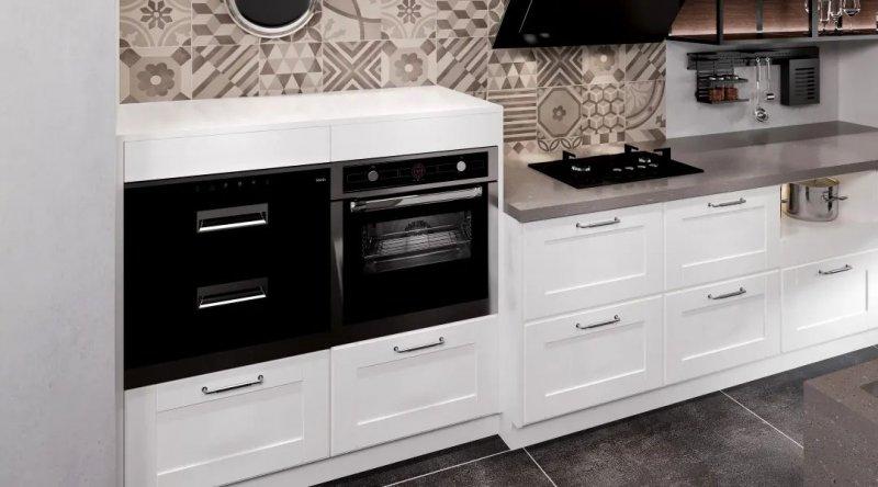司米橱柜厨房系列图片 轻奢风装修效果图_14