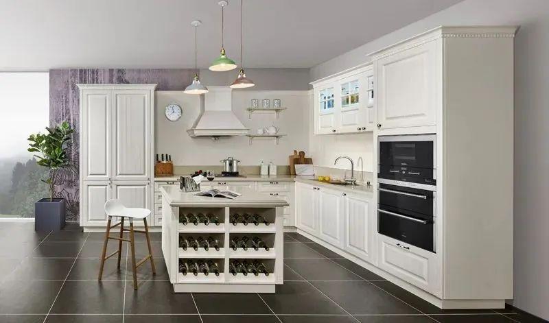 司米橱柜厨房系列图片 轻奢风装修效果图_18