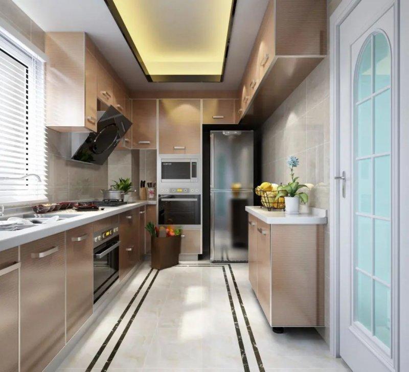 司米橱柜厨房系列图片 轻奢风装修效果图_6