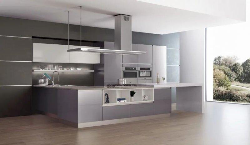 司米橱柜厨房系列图片 轻奢风装修效果图_9