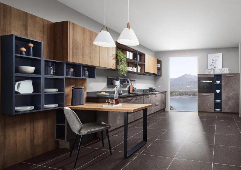 司米橱柜厨房系列图片 轻奢风装修效果图_10