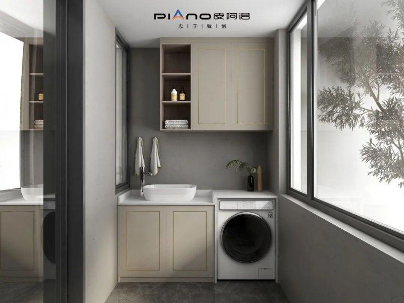皮阿諾櫥柜意式輕奢風格家裝效果圖_21