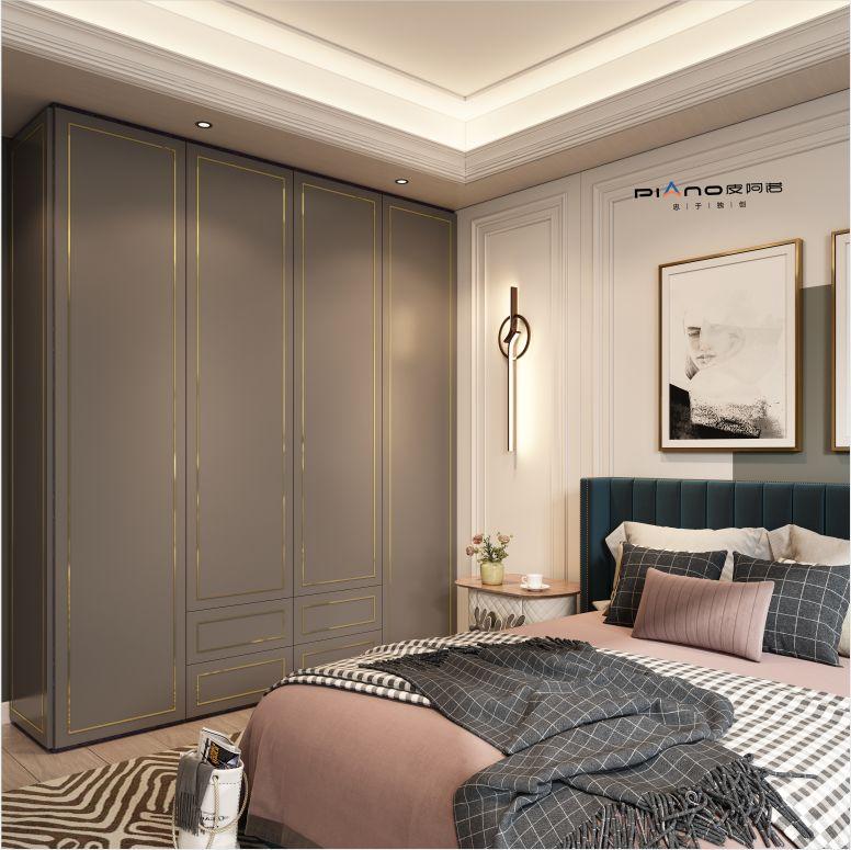 皮阿諾櫥柜意式輕奢風格家裝效果圖_15