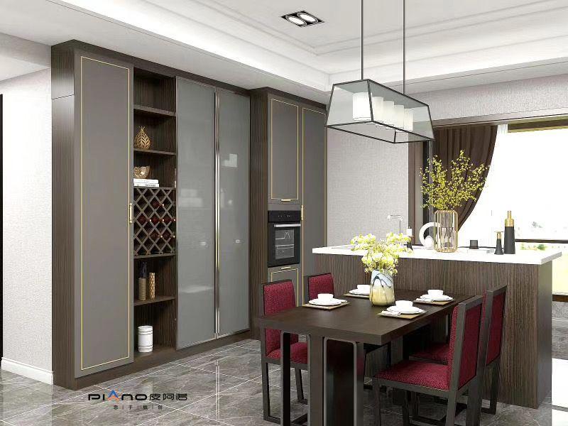 皮阿諾櫥柜意式輕奢風格家裝效果圖_8