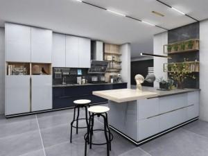 澳都厨柜衣柜厨房设计效果图
