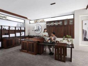 柏厨家居茶室设计效果图展示