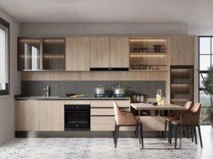 九牧厨柜图片 2021新品高颜值橱柜图片