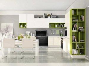 时哥集成灶产品图片 现代风厨房装修效果图